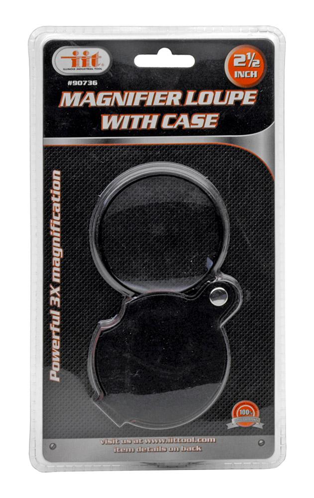 ''2.5'''' Magnifier Loupe w/ Case''