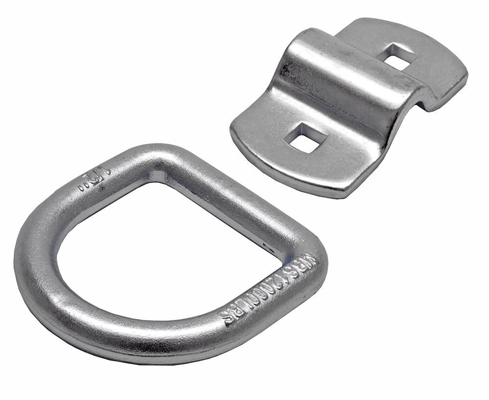 ''1/2'''' Forged D-RING With Bolt-On Bracket''