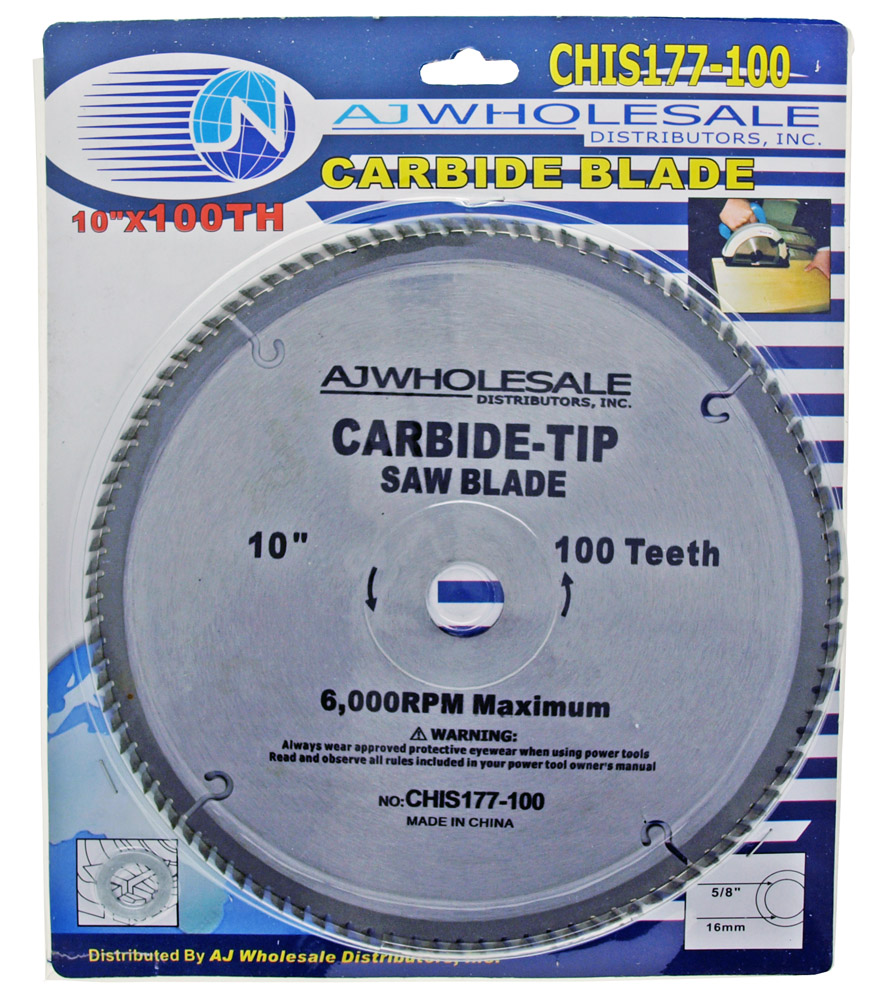 ''10'''' x 100 Tooth Carbide Blade Circular SAW''