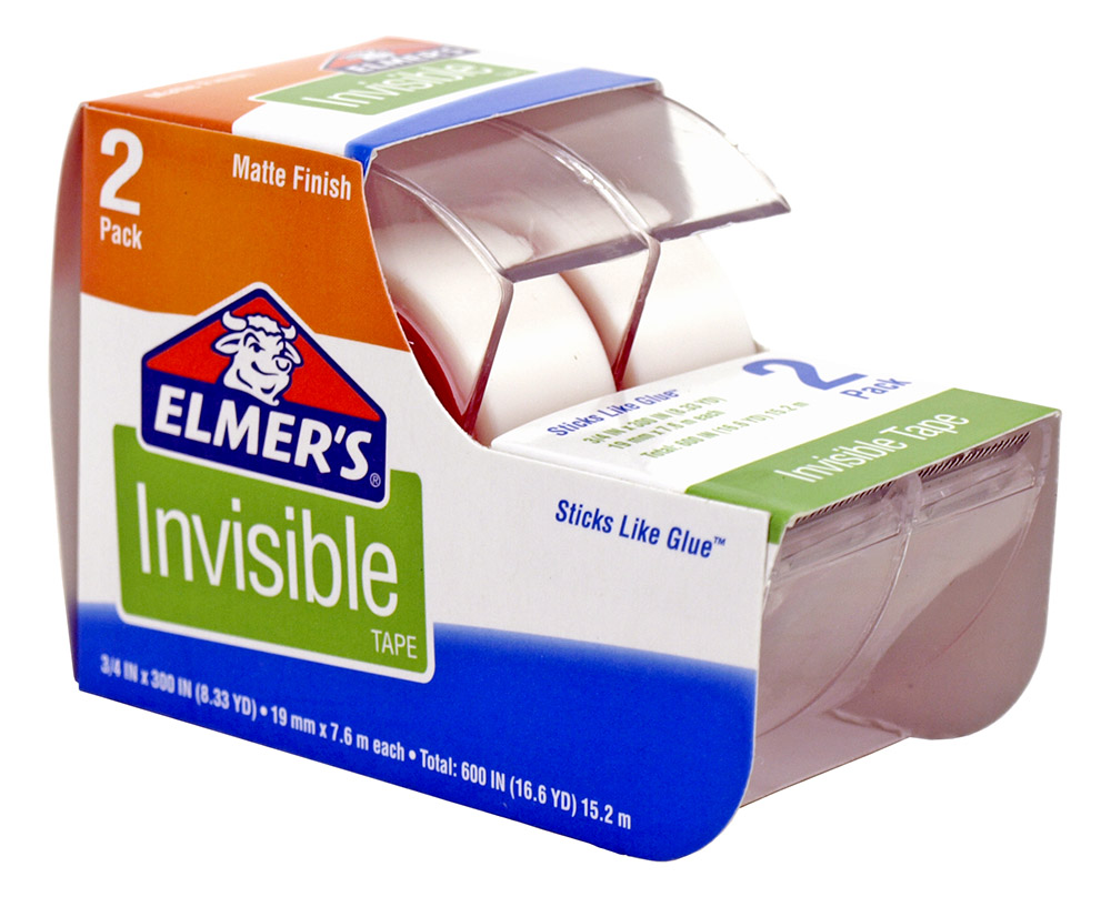 2 - pk. Elmer's Invisible Tape