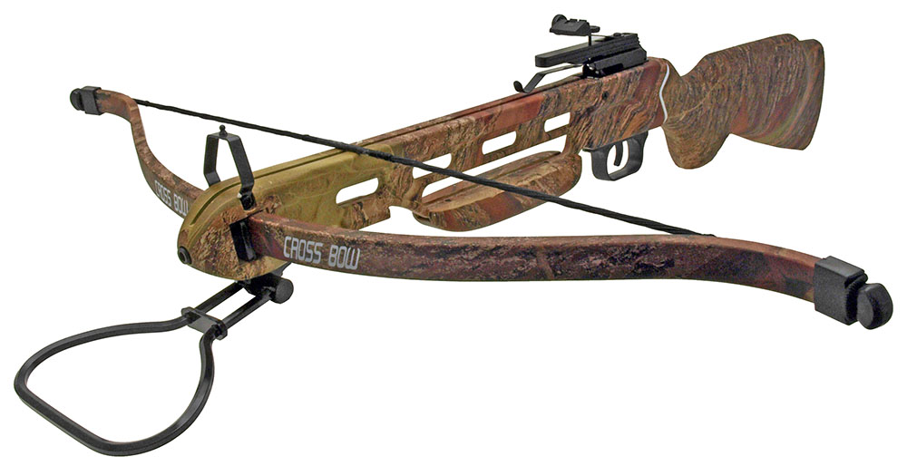 150 Lb. Crossbow w/Full Stock - Camo