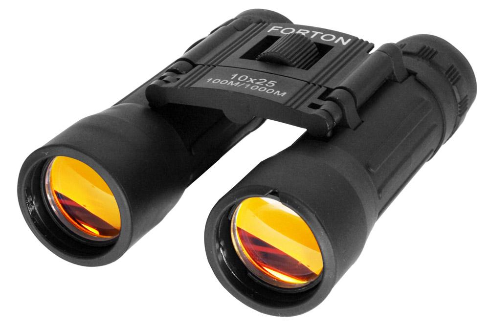Black 10 x 25 Binoculars