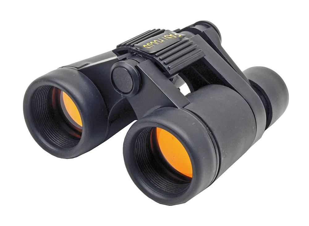 4 x 30 Compact Binocular Fast Focus - Black