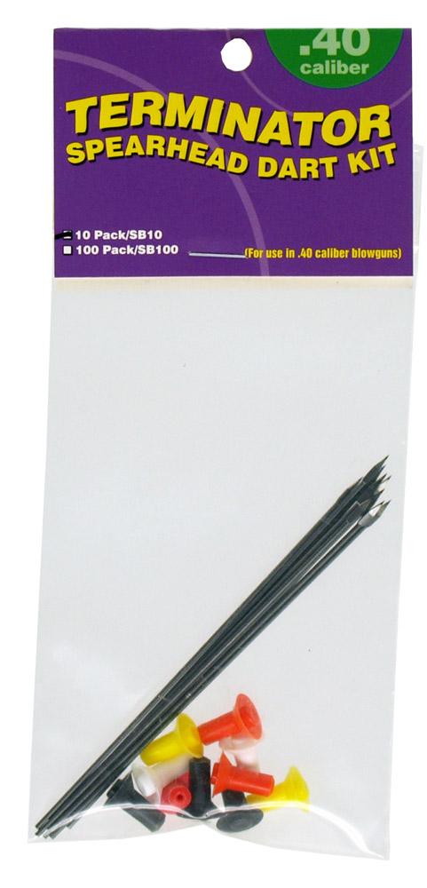 10-pc. Spearhead Dart Kit