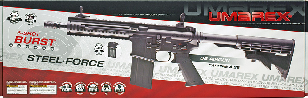Umarex Steel Force Co2 4 5mm Bb Rifle
