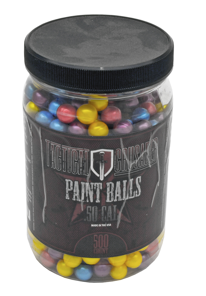 500-pc. .50 Caliber PAINTBALLs