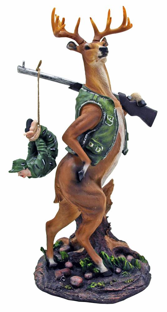 the deer hunter statue