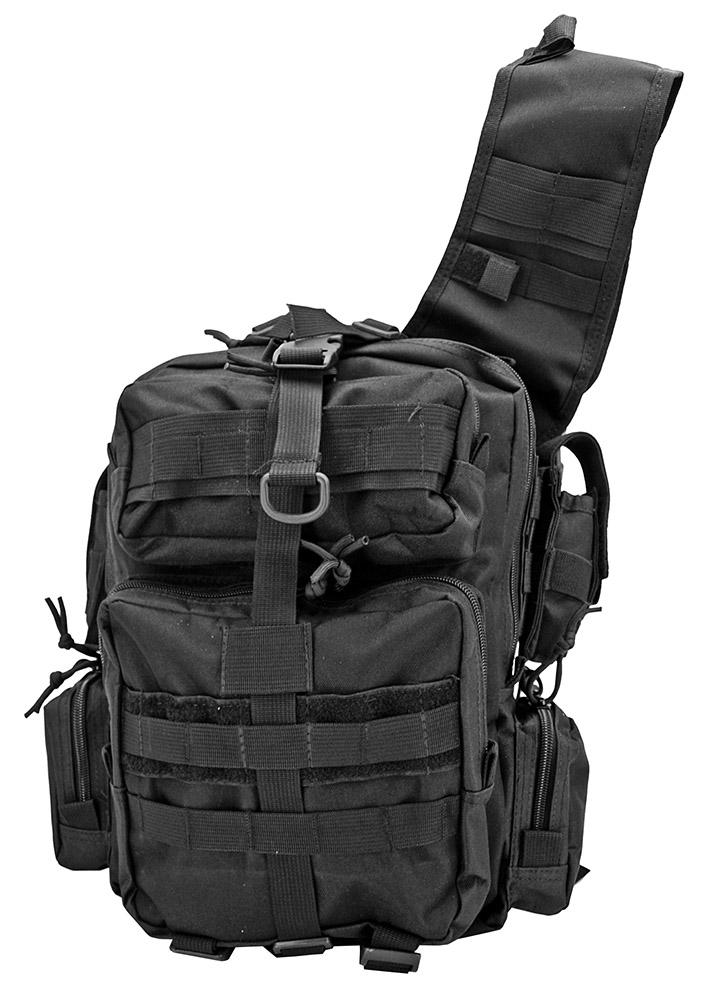 Tactical SHOULDER BAG - Black