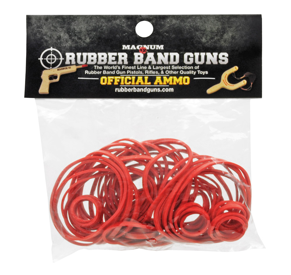 1oz RUBBER BAND Ammo