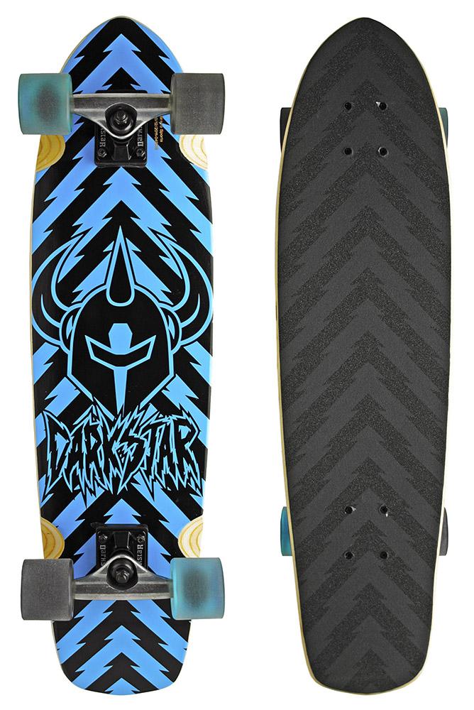 Darkstar Blue Lightning Longboard Cruiser