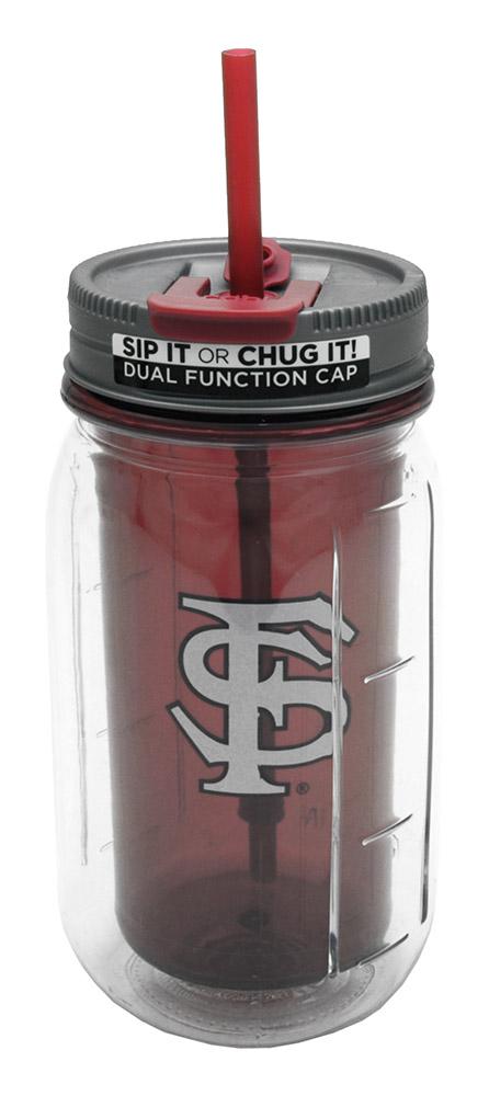 16-oz Florida State Mason Jar Water Bottle