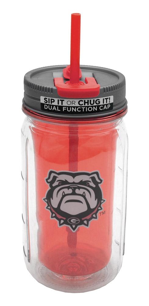 16-oz Georgia Mason Jar Water Bottle