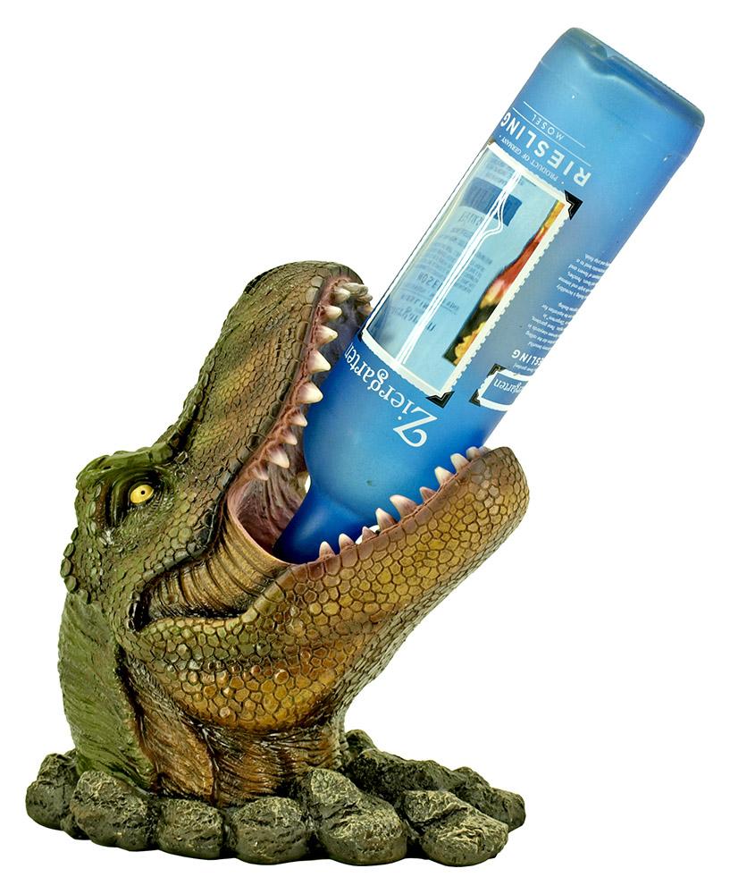 Wino saur rex dinosaur wine bottle holder - Dinosaur wine holder ...