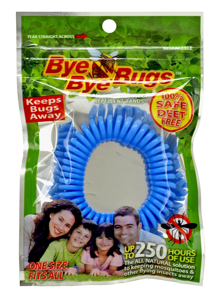 Bye Bye Bugs All Natural Insect Repellent WRIST BAND