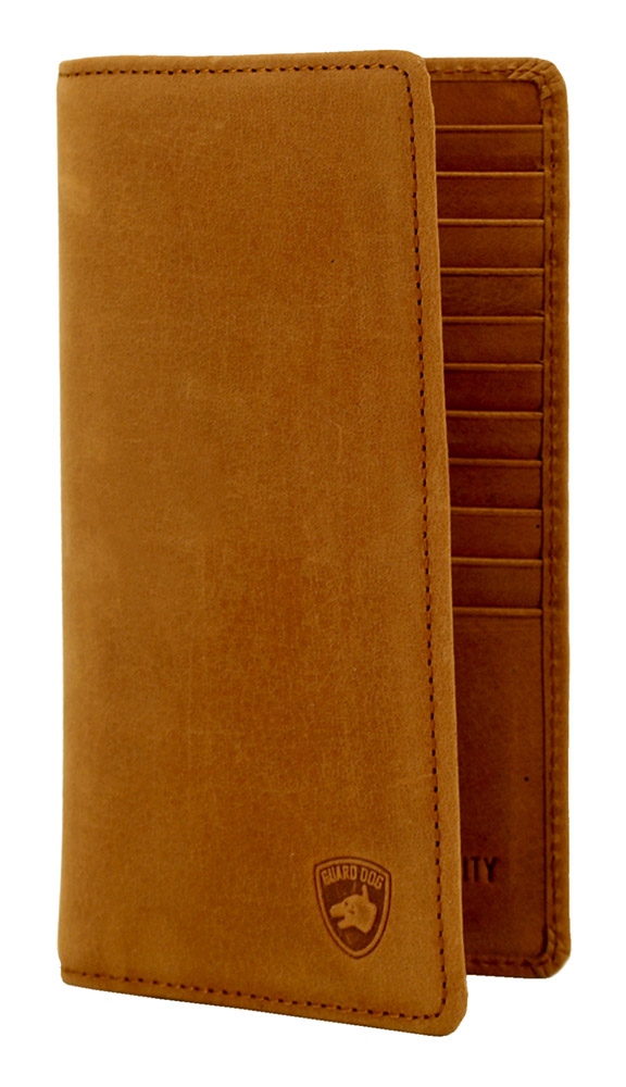RIFD Guard Dog Security WALLET (Large) - Brown