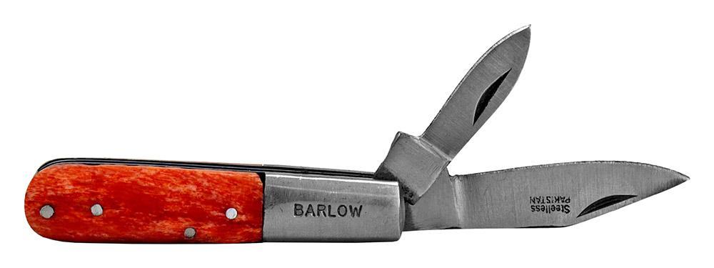 ''3.5'''' Double Blade POCKET KNIFE - Orange''