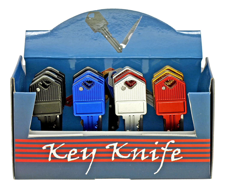 12 - pc. Key Style POCKET KNIFE Display Set