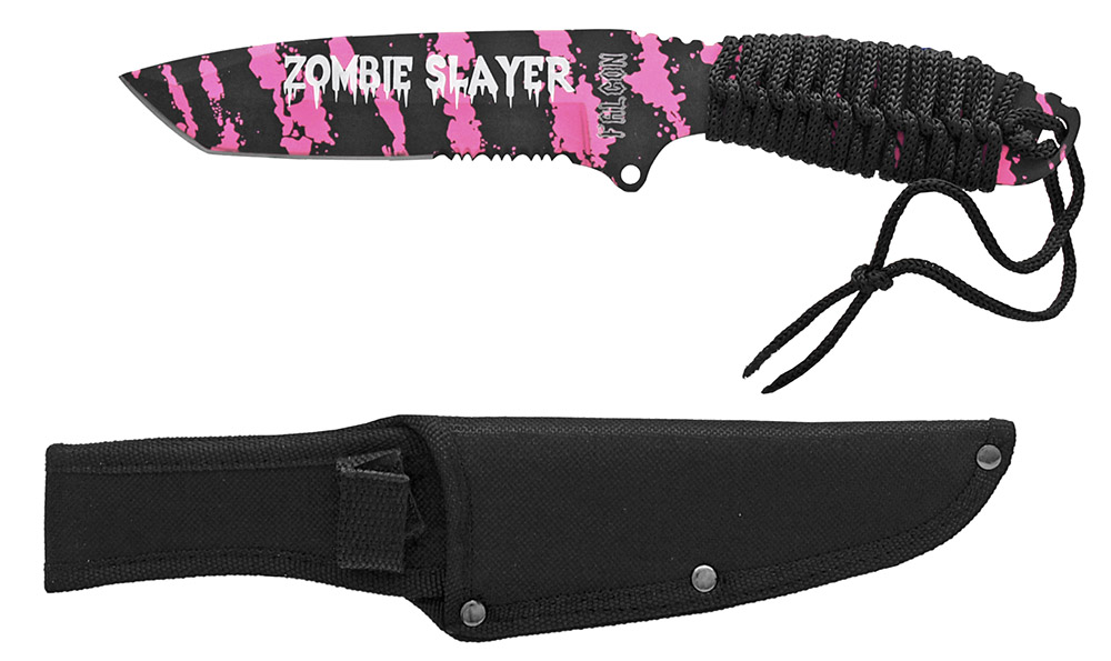 ''10'''' Zombie Slayer KNIFE - Pink''