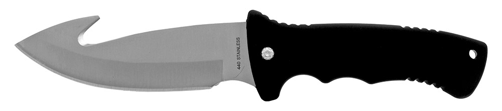 ''10.5'''' Gut Hook Hunting KNIFE - Black''