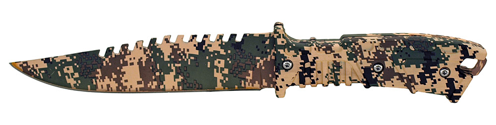 ''10'''' Hunting KNIFE - Digital Camo''