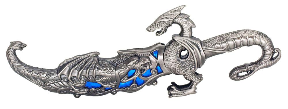 ''10'''' Dragon KNIFE - Blue''