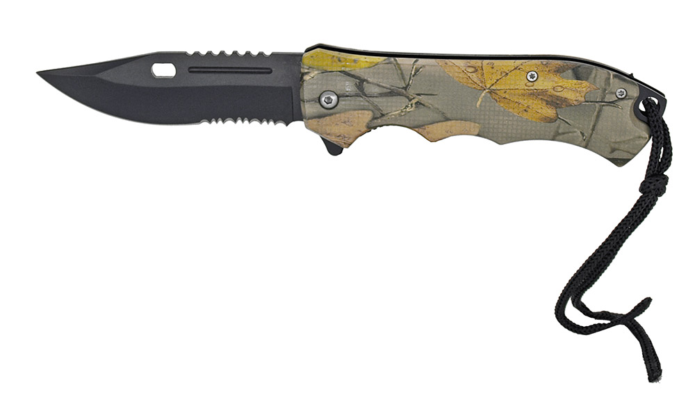 ''4.75'''' Spring Assist Folding KNIFE - Tree Camo''