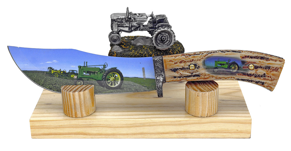 ''10'''' Decorative Tractor KNIFE''