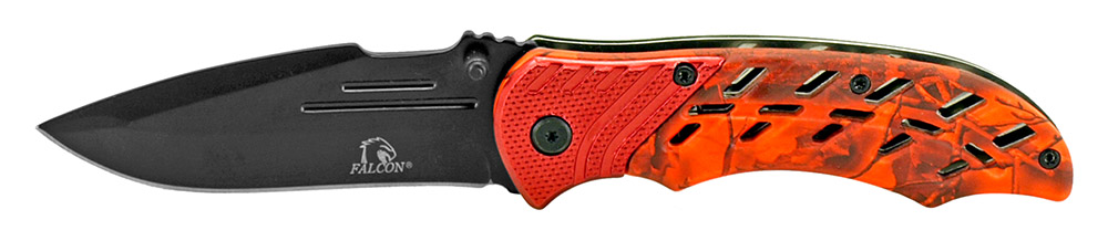 ''4.5'''' Spring Assisted Folding KNIFE - Red''