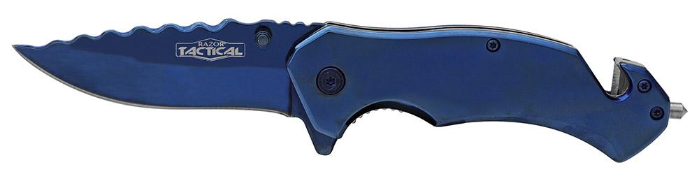 ''4.25'''' Spring Assist Folding KNIFE - Blue''