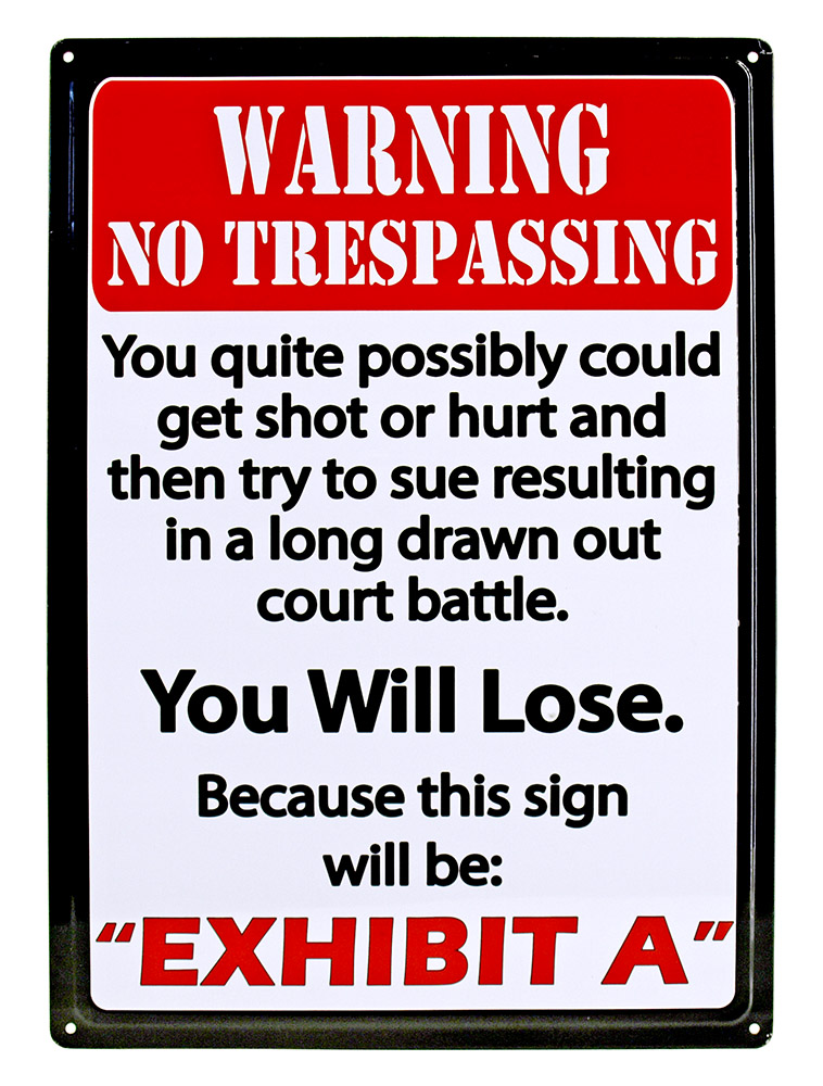 It is an image of Divine Printable No Trespassing Signs