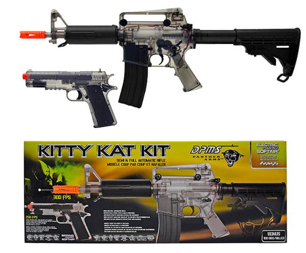 Panther Arms Kitty Kat AEG Electric Airsoft Rifle Kit