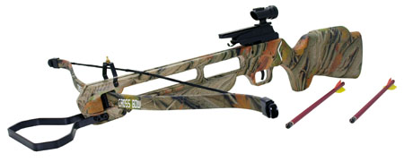150 Lb. Pre-strung Camo Crossbow