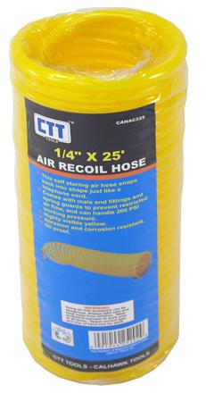 ''1/4'''' x 25' Air Recoil Hose''