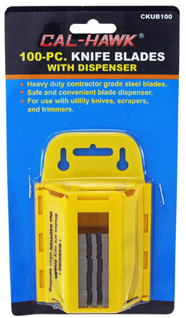 100-pc. Utility KNIFE Blades with Dispenser