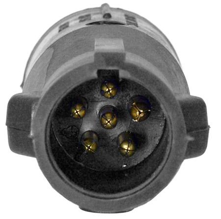 Tirol 7 Pin Blade TO 6 PIN Round Trailer Adapter Trailer