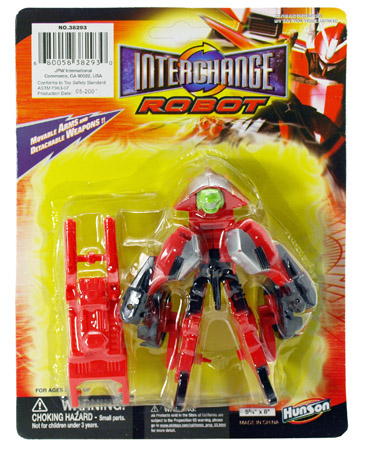 Interchanging Robot ACTION FIGURE
