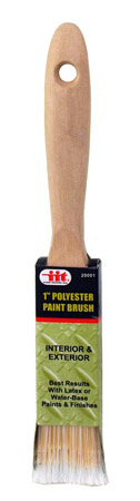 ''1'''' Polyester PAINT Brush''