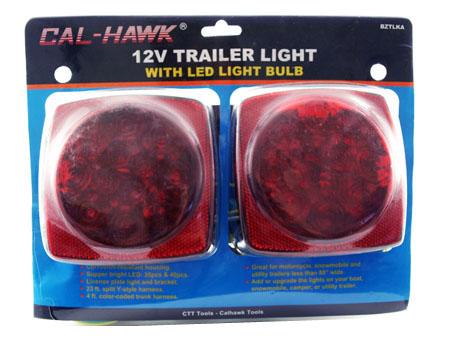 12V Trailer LIGHT w/ LED LIGHT BULB